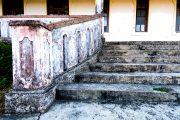 Steps of Pousada de Maubisse