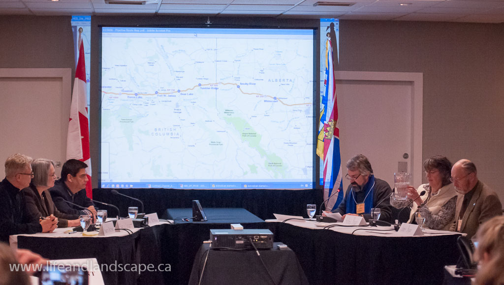 Northern Gateway Joint Review Panel hearing in Kelowna