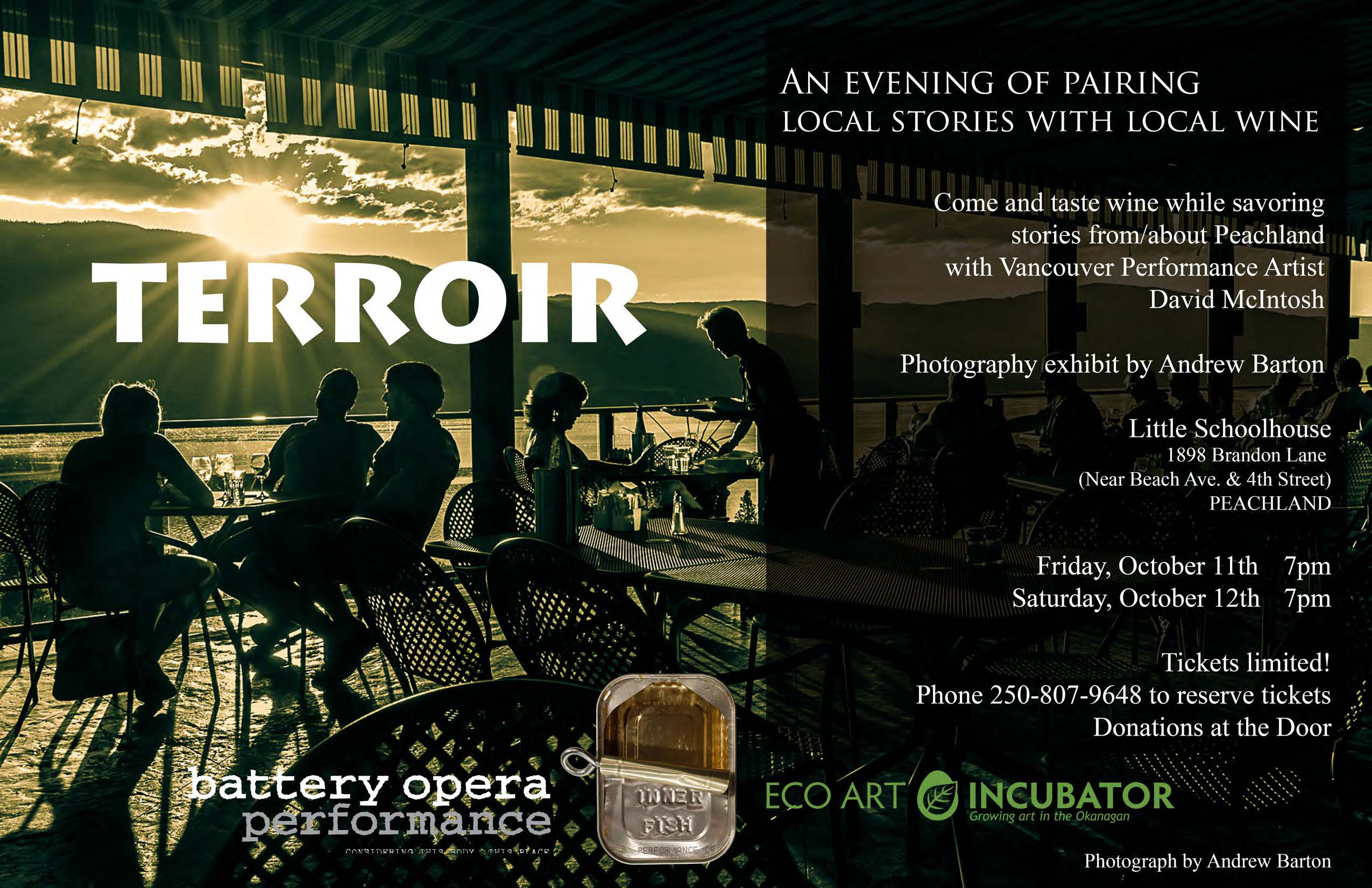 Terroir Event – Stories, Wine and Photographs
