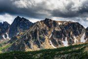 Cathedral Lakes Mountain Ridge