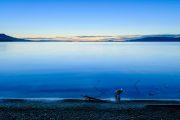 Stuart Lake at Sunset