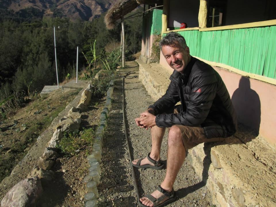 Andrew in Timor Leste